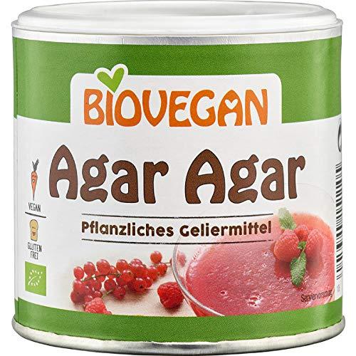 Agar Agar Bio Poudre Pur Sans Gluten Boîte 100g | Goût Et Odeur neutre - Gélifiant Alimentaire Végétal Agar Agar Biologique – Gélatine Végétale Poudre Bio