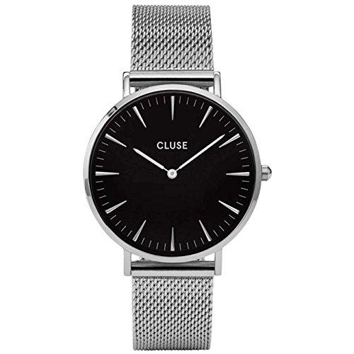 Cluse Reloj Analógico para Hombre de Cuarzo con Correa en Acero Inoxidable CL18106