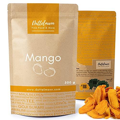 Bandes de mangue bio 500g   100% naturel et sain   Qualité supérieure   Sans additifs   Végétalien   Palmyra Delights
