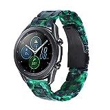 Songsier Compatibile con Cinturino Galaxy Watch 3 45mm/ Gear S3 Frontier/Galaxy Watch 46mm/ Gear 2/ Huawei Watch GT2 46mm/ Watch GT 46mm/Moto 360, Cinturino di Ricambio in Resina da 22 mm