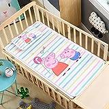 FIFY Estera de Seda para Hielo Kit de colchonetas para niños guardería de Seda para niños de Kindergarten con Base de Almohada Cama Individual para bebés @ M_60 * 120