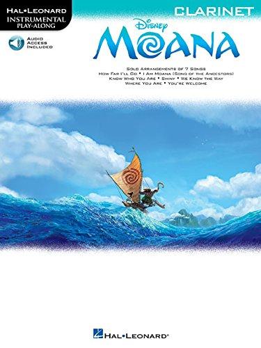 Moana: Clarinet (Hal Leonard Instrumental Play-along)
