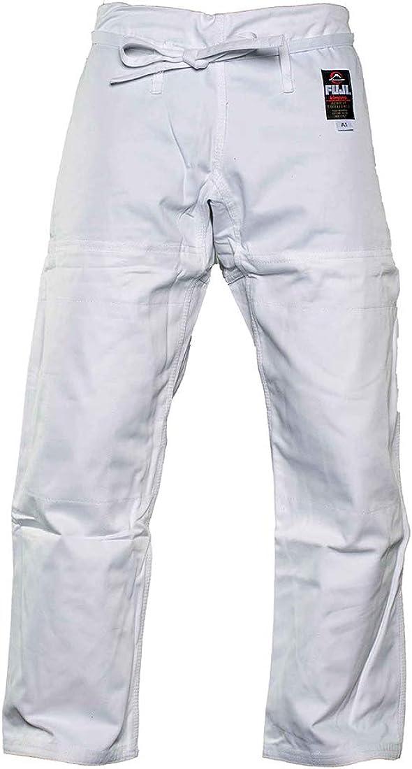 FUJI half BJJ Cheap super special price Gi Pants Cotton Flat Jiu-Jitsu with Drawstrings