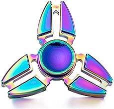 Happytoys Tri spinner type rainbow colorful metal fidget spinner