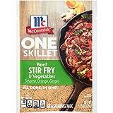 McCormick One Skillet Beef Stir Fry & Vegetables Seasoning Mix, 1.25 oz (Pack of 12)