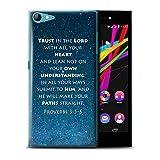 Hülle Für Wiko Highway Star 4G Christliche Bibel Vers Trust In The Lord/Proverbs Design Transparent Ultra Dünn Klar Hart Schutz Handyhülle Hülle