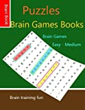 Puzzles Brain Games books: Puzzles  Logic Books  Word Search