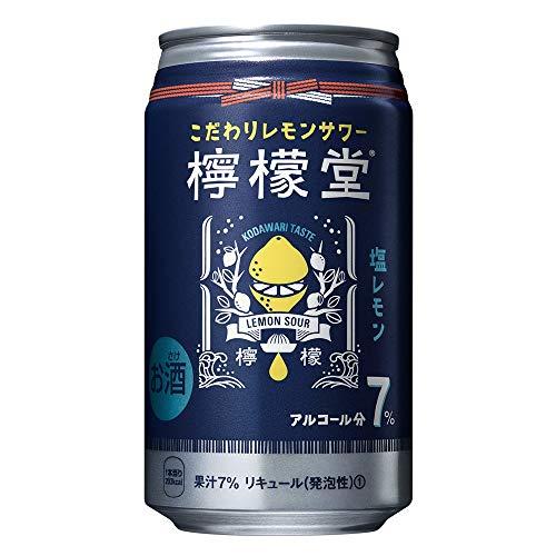 檸檬堂 塩レモン 缶 [ チューハイ 350ml×24本 ]