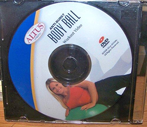 ALTUS Anti-Burst Body Ball Workout Video DVD
