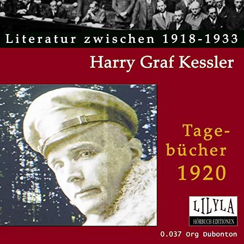 Tagebücher 1920 Titelbild