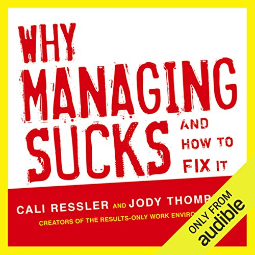 Why Managing Sucks and How to Fix It cover art