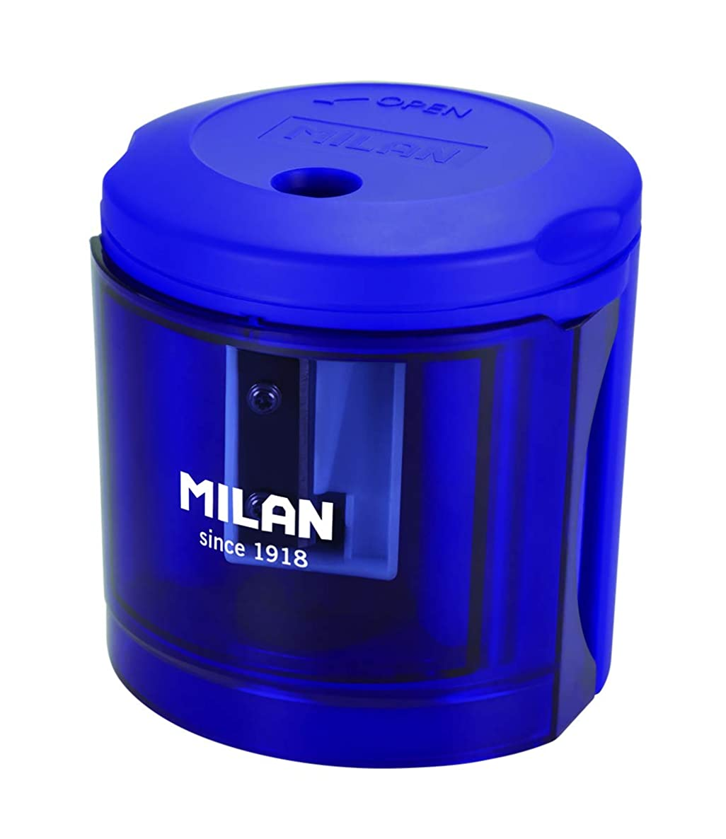 MILAN Electric Pencil Sharpener, Blister Pack, Power Sharp