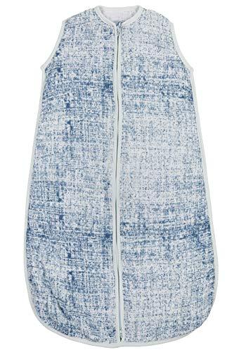 Sommer Schlafsack, Fine Lines, 110 cm, Jeansblau