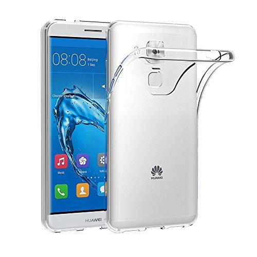 AICEK Huawei Nova Plus Hülle, Transparent Silikon Schutzhülle für Huawei Nova Plus 5.5 Zoll Hülle Ultra Crystal Clear Durchsichtige TPU Bumper Huawei Nova Plus Handyhülle