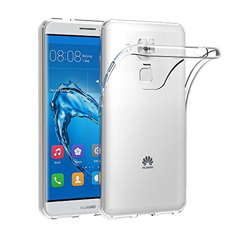 AICEK Huawei Nova Plus Hülle, Transparent Silikon Schutzhülle für Huawei Nova Plus 5.5 Zoll Case Ultra Crystal Clear Durchsichtige TPU Bumper Huawei Nova Plus Handyhülle