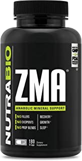 Sponsored Ad - NutraBio ZMA Supplement – 180 Capsules