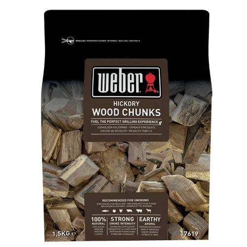 Weber - Virutas de madera de pacana (1,5 kg)