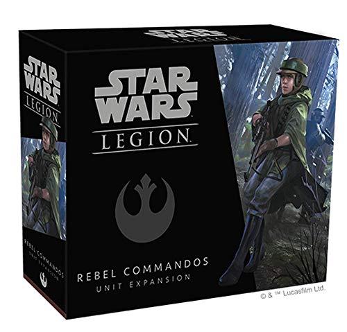 Star Wars: Legion - Rebellenkommandos Erweiterung DE/IT Star Wars: Legion – Comando Rebelles, ampliación, Tablet, alemán, FFGD4616, Multicolor
