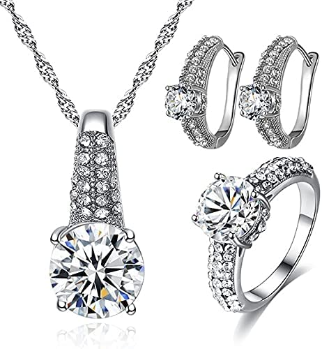 Max 67% OFF DVPHA 1 set water drop earring necklace 35% OFF setting shape rhinestone