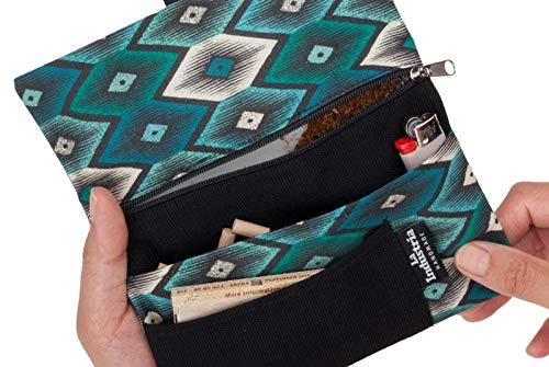 Funda Pitillera colorida - Tabaquera con bolsillos para accesorios