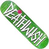 DEATHWISH デスウィッシュ スケボーデッキ 板 DEATHSPRAY VENEERS Deak Green 8.25inch