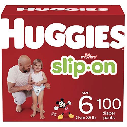 Huggies Little Movers SlipOn Diaper Pants Size 6 100 Ct