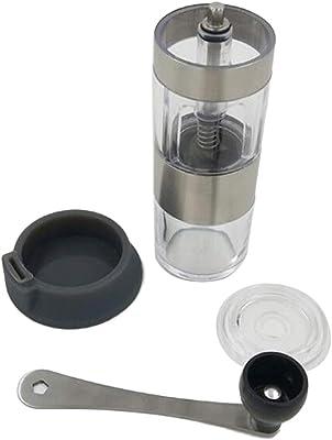 ステンレス ポータブル 手動 コーヒーグラインダー コーヒーミル 実用的 便利グッズ