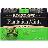 Bigelow Plantation Mint ビゲロープランテーションミントティー,紅茶20杯分 [並行輸入品]
