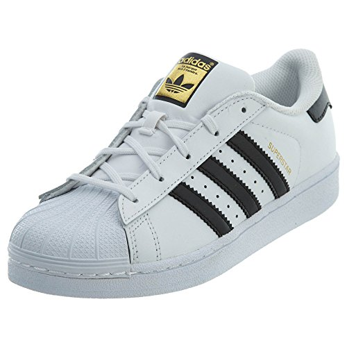 adidas Originals Kid's Unisex Superstar White/Black/White 2