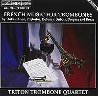 Trombone Music by ANONYMOUS / BOZZA EUGENE / DEBU (1994-10-12)