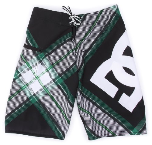 DC Shoes Jungen Boardshort Campaign, Black/Green, 26, D072810021