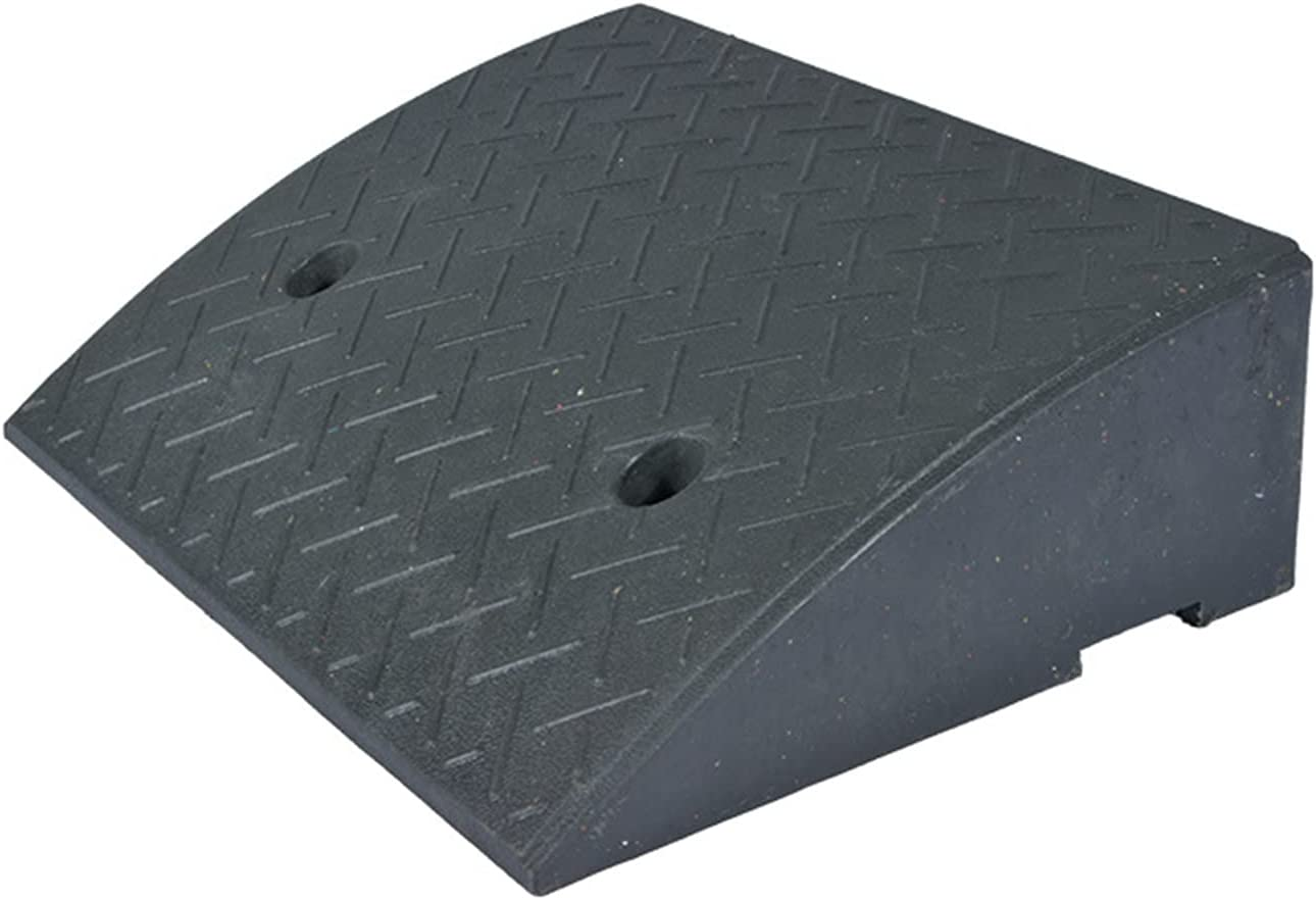 YUOPL Heavy Max 45% OFF Duty Portable Threshold Wheelchai Rubber Ramp Recommended Solid