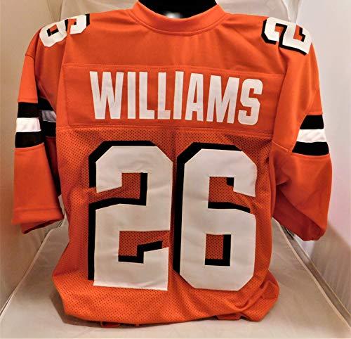 GREEDY WILLIAMS Unsigned Browns Custom Orange Stitched Jersey XL New No Brands/Logos