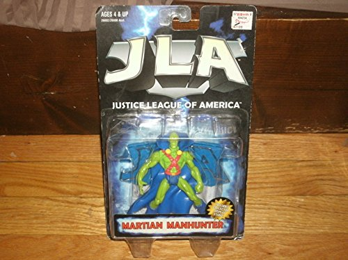 JLA Justice League of America Martian Manhunter Action Figure by Hasbro