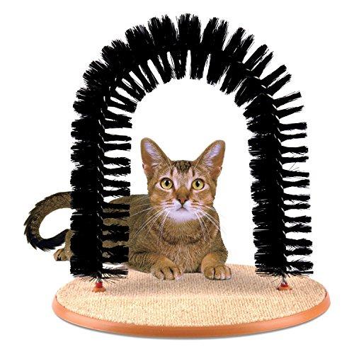 Prime Paws Bogen für Katzen zum Massieren und Kratzen