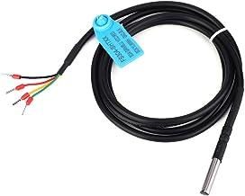 Wacent Temperatura Digital del Suelo, Sensor Duradero sonda del Sensor de Humedad Caja Impermeable de Acero Inoxidable(SHT30)