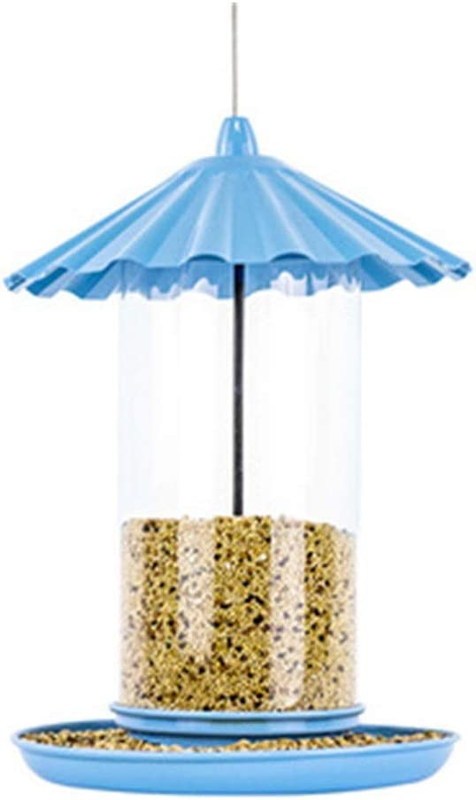 Transparent bird feeder Mail order Traditional Metal Classic Max 44% OFF Bird Tube Feed