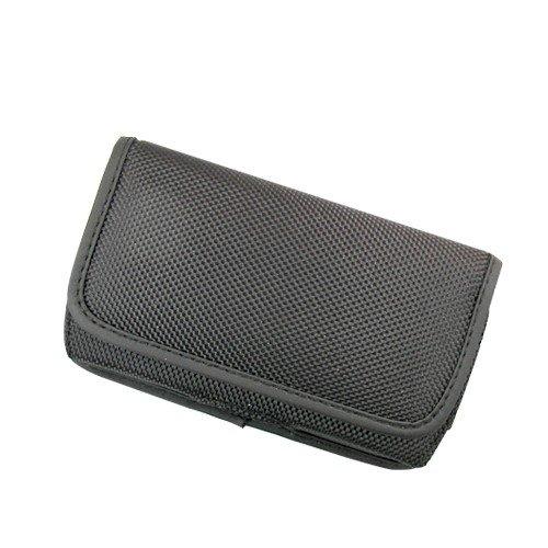 Orizzontale nero robusta tela custodia per Nokia 105(2017), 130(2017), heavy duty
