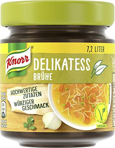 Knorr Delikatess Brühe Glas, 7,2 Liter, 10er Pack,