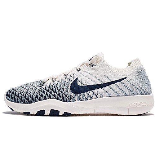 NIKE Womens Free TR Flyknit 2 Indigo Running Trainers 904656 Sneakers Shoes (UK 6 US 8.5 EU 40, Sail College Navy 104)