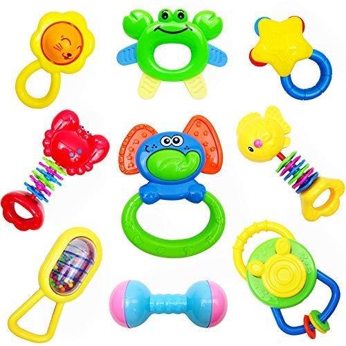 CSXC Baby Toys Baby Rattles Teet...