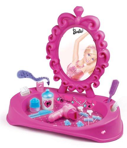 Faro - 6820 - Jeu D'imitation - Commerçant - Set De Beauté Barbie Electronique - Miroir + Accessoires - 52 Cm