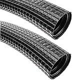 BeMatik - Tubo corrugado exterior para cables M-32 23mm 25m coarrugado (AE068)