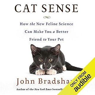 Cat Sense audiobook cover art