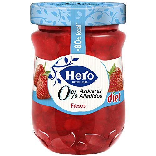 Hero Diet, Mermelada (Fresas) - 280 gr.