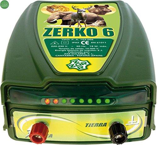 Pastor eléctrico Zerko-Red. 6 julios de potencia