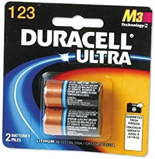 2-Pack DL123 3V Camera Battery