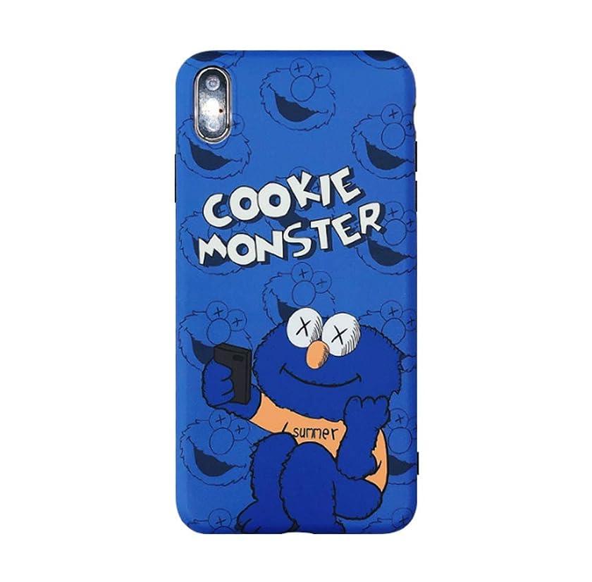 Compatible with iPhone 7 Plus Case/iPhone 8 Plus Case, KAWS Sesame Street Cute Soft Case Shockproof Drop Protective Case