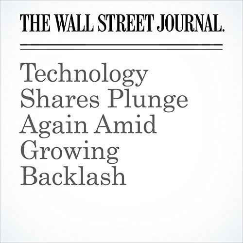 Technology Shares Plunge Again Amid Growing Backlash copertina