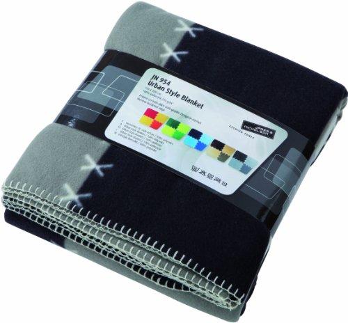 JAMES & NICHOLSON JN954 gry Couverture Polaire Urban Style Blanket Gris